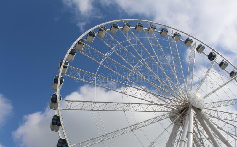 колесо неба стоковое фото