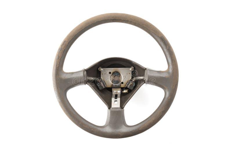колесо перевозки управления рулем автомобиля нутряное стоковые изображения