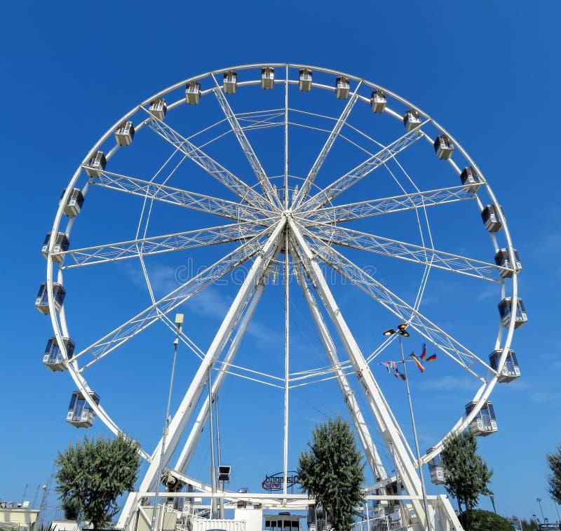 Колесо Римини - Ferris стоковые фотографии rf