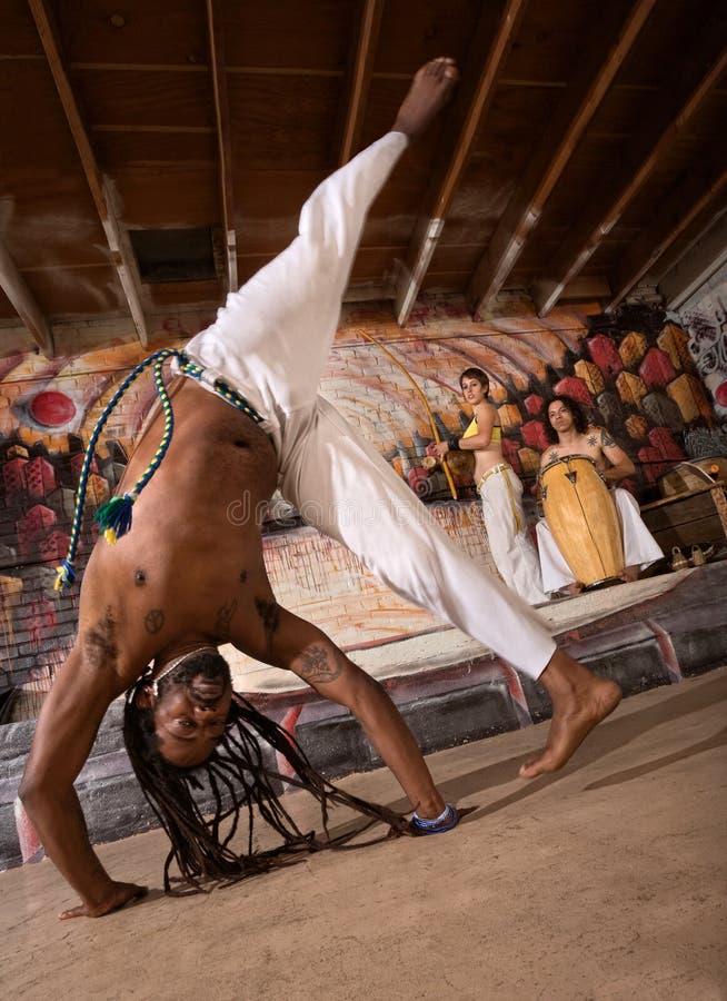 Колесо телеги Capoeira стоковое фото