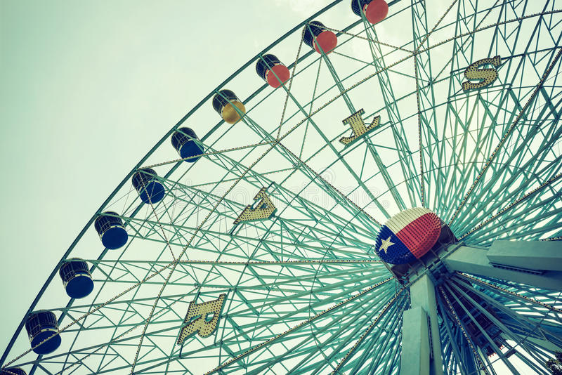 Колесо ferris звезды Техаса стоковые фото