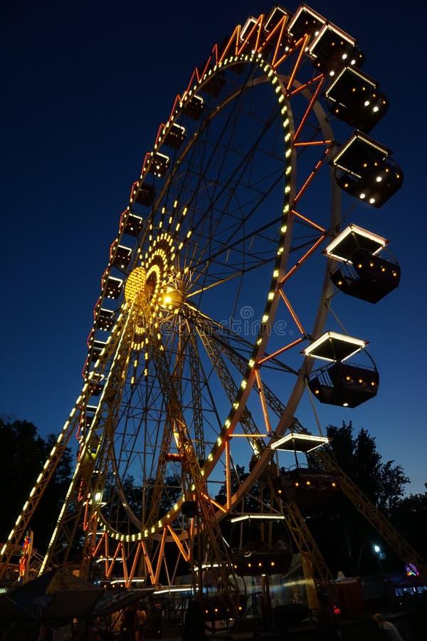 Колесо Ferris стоковое фото rf