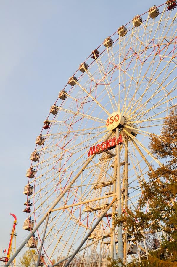 колесо moscow ferris стоковые фото