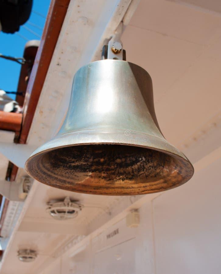 Колокол на корабле стоковая фотография rf