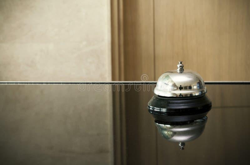 Колокол на приеме стоковое изображение rf