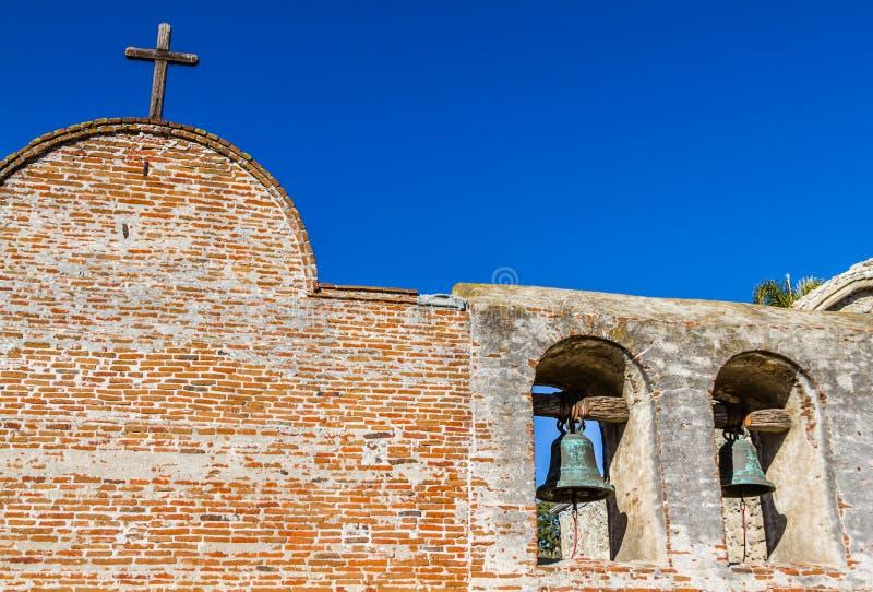 Колоколы полета San Juan Capistrano стоковая фотография rf