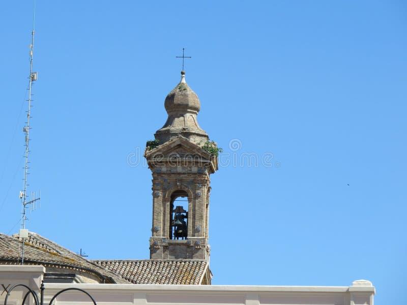 колокольня стоковое изображение rf
