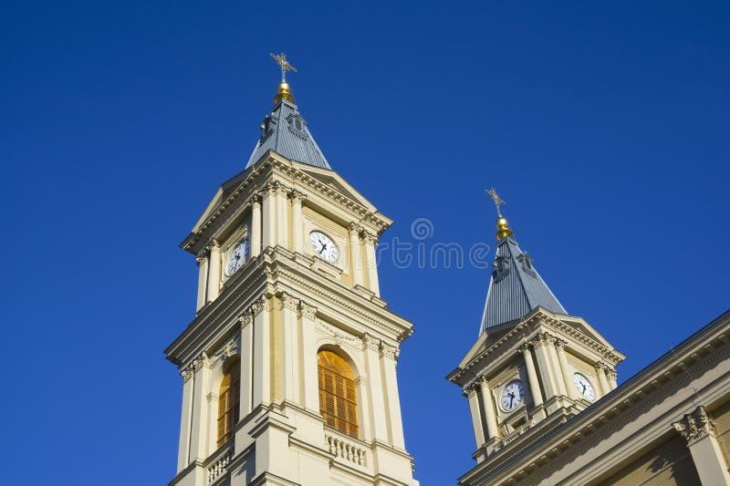 Колокольня ` s церков стоковые изображения rf