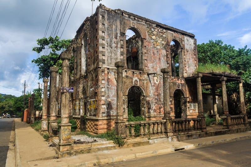 Колониальная руина стоковое фото rf