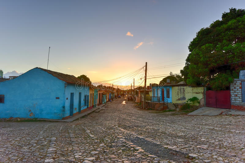 Колониальный Тринидад, Куба стоковое фото