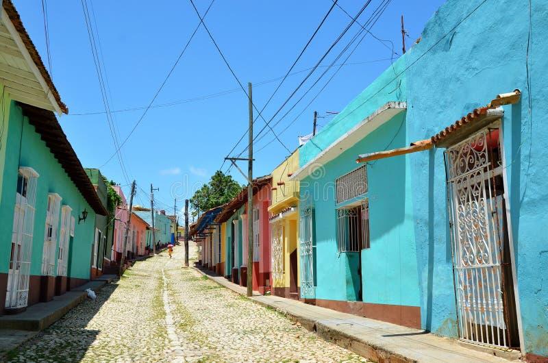 Колониальный Тринидад стоковые изображения rf