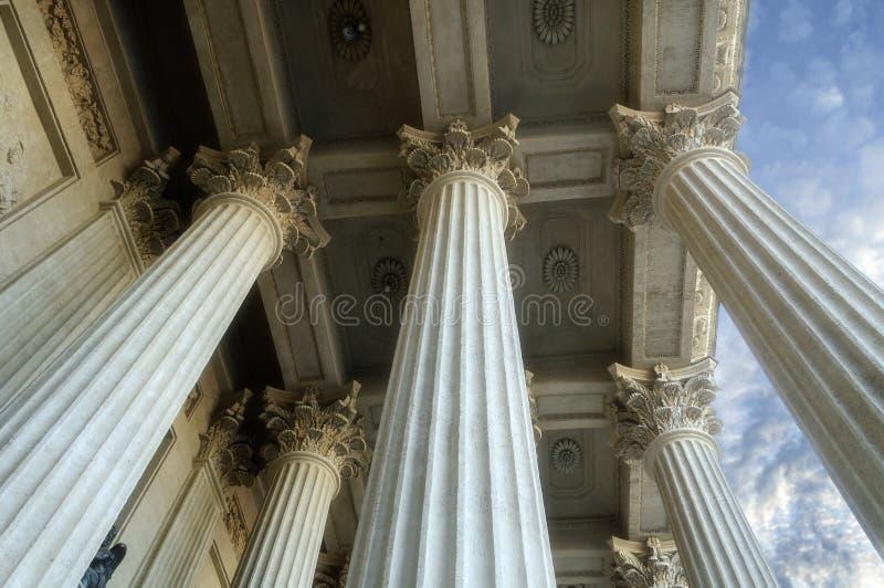 Колоннада собора Казани стоковое изображение rf