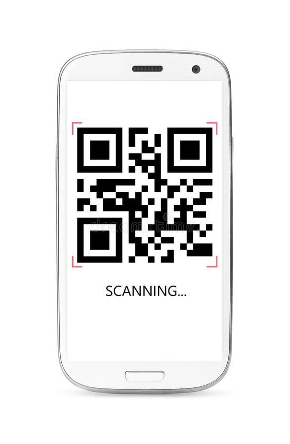 Download Код скеннирования QR стоковое фото. изображение насчитывающей дисплей - 33739054