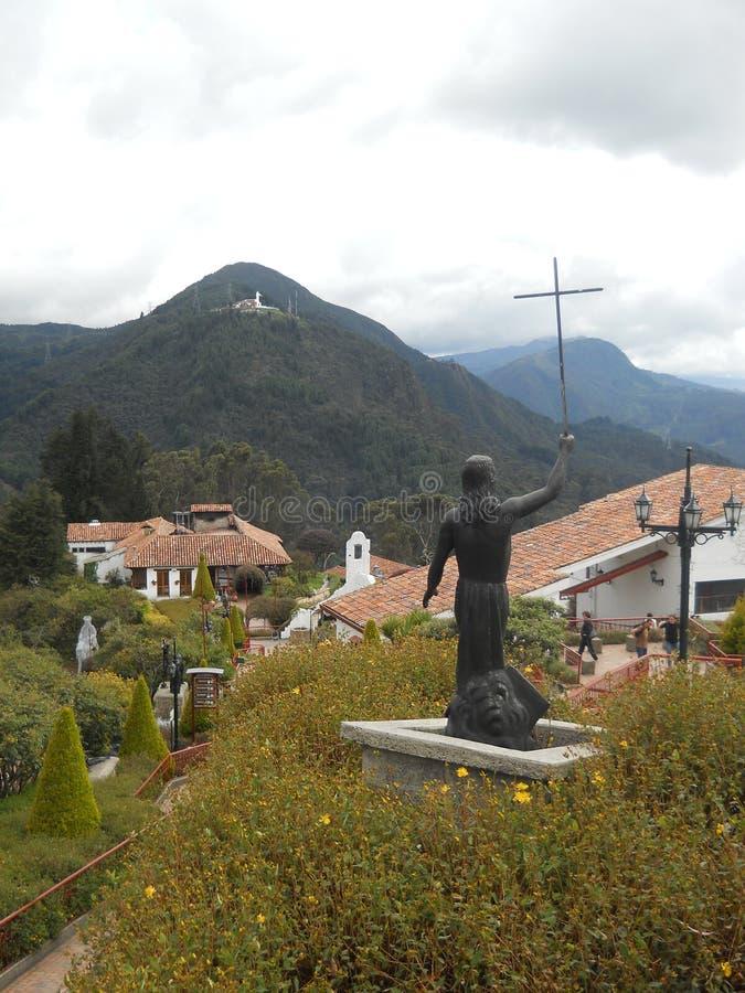 Колумбийский Иисус в Боготе стоковые фото