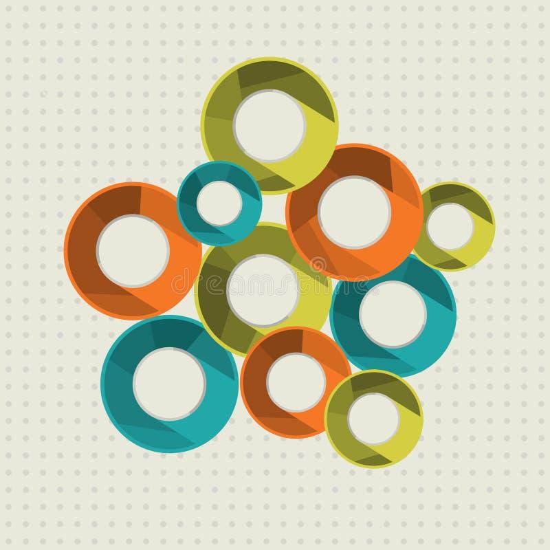 Download Кольца. иллюстрация вектора. иллюстрации насчитывающей цветасто - 37925791