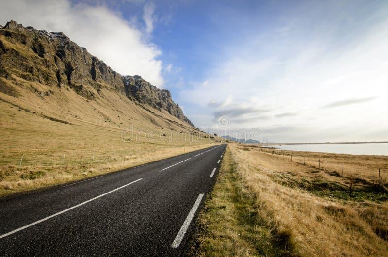 Кольцевая дорога Исландии стоковая фотография rf