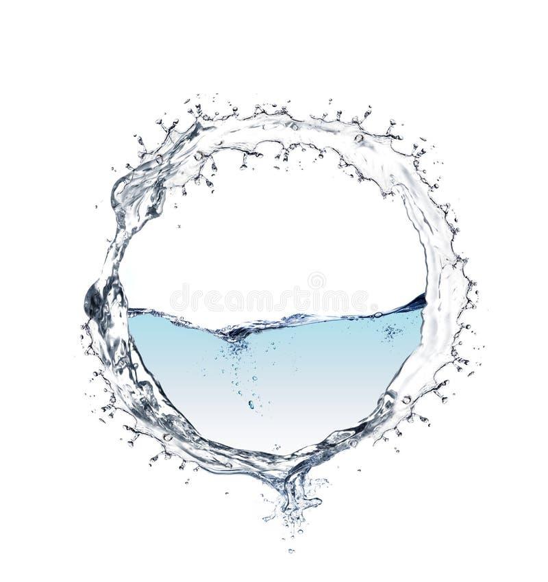 Кольцо воды стоковая фотография rf
