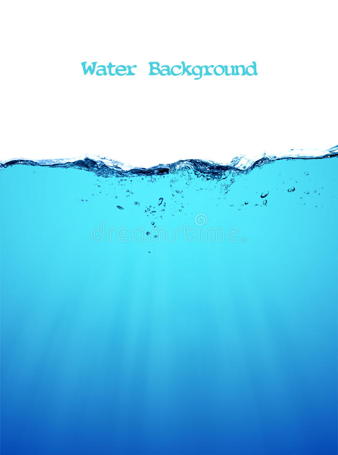 Кольцо воды стоковое фото rf
