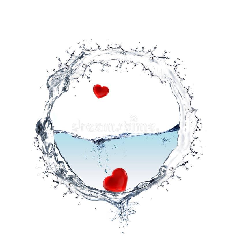 Кольцо воды стоковое изображение rf