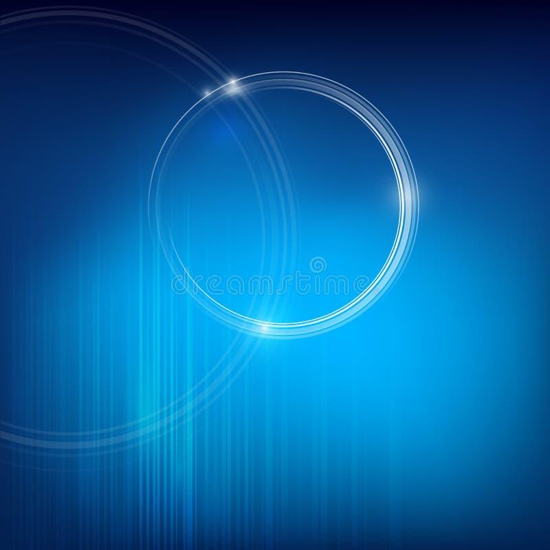 Download Кольцо круга и голубая предпосылка Иллюстрация вектора - иллюстрации насчитывающей план, шикарно: 40581725