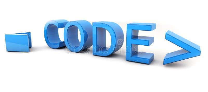 Код стоковое изображение rf