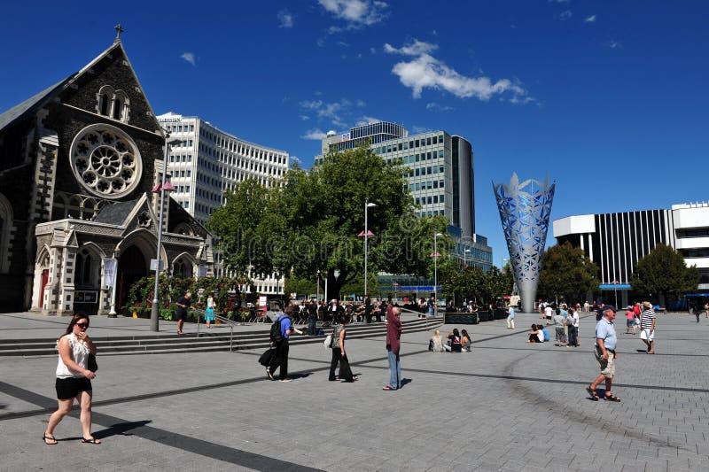 Крайстчёрч - Новая Зеландия стоковые изображения