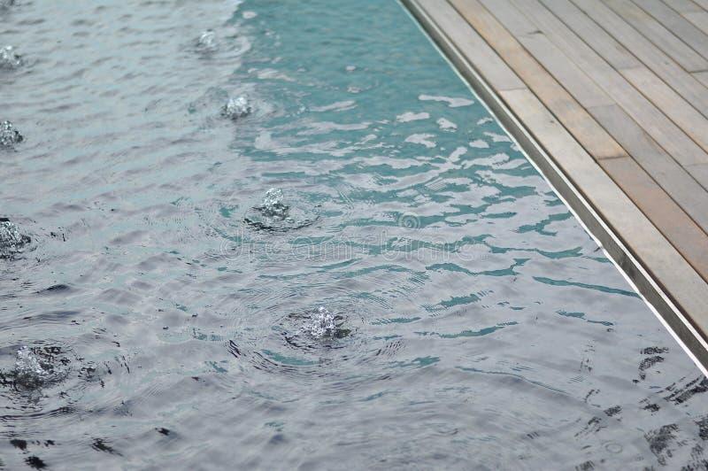 Край характеристики воды стоковое изображение rf