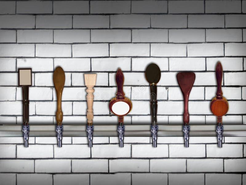 Краны пива бесплатная иллюстрация