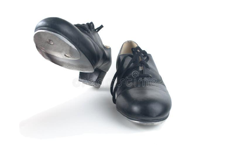 кран ботинок танцы стоковые изображения
