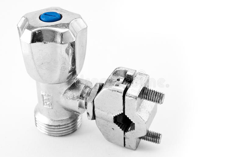 кран водопроводчика s стоковая фотография rf