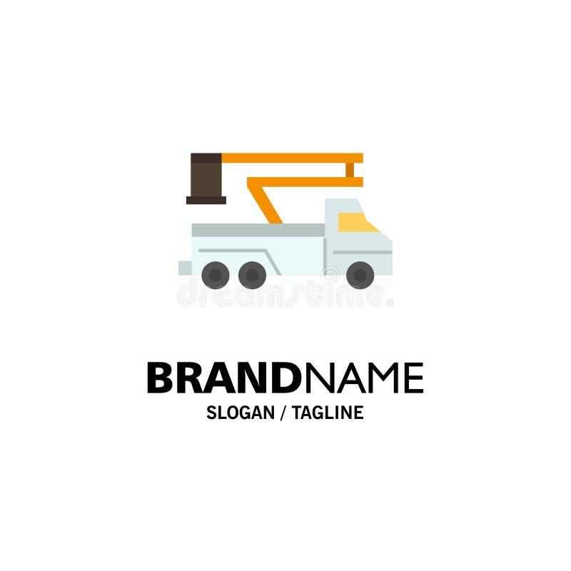 Кран, тележка, подъем, поднимаясь, шаблон логотипа дела перехода r бесплатная иллюстрация