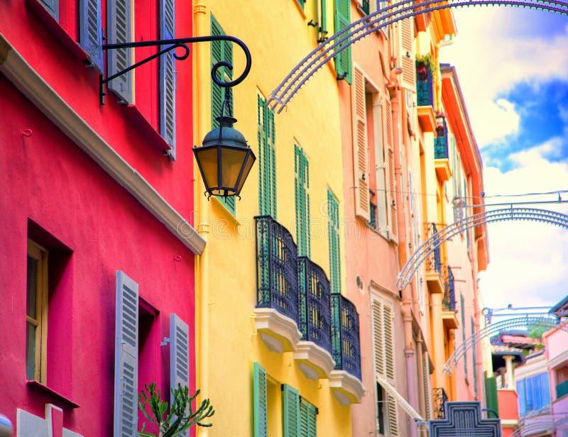 Красивая архитектура Монако стоковая фотография rf
