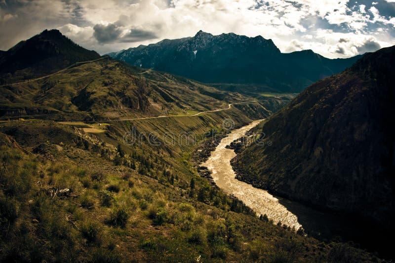 Красивая Британская Колумбия стоковое изображение rf