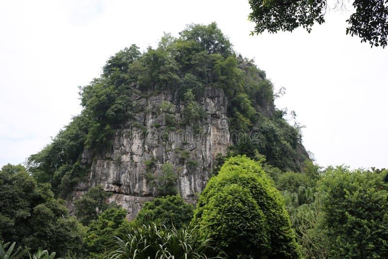 Красивая гора в Китае стоковые фото