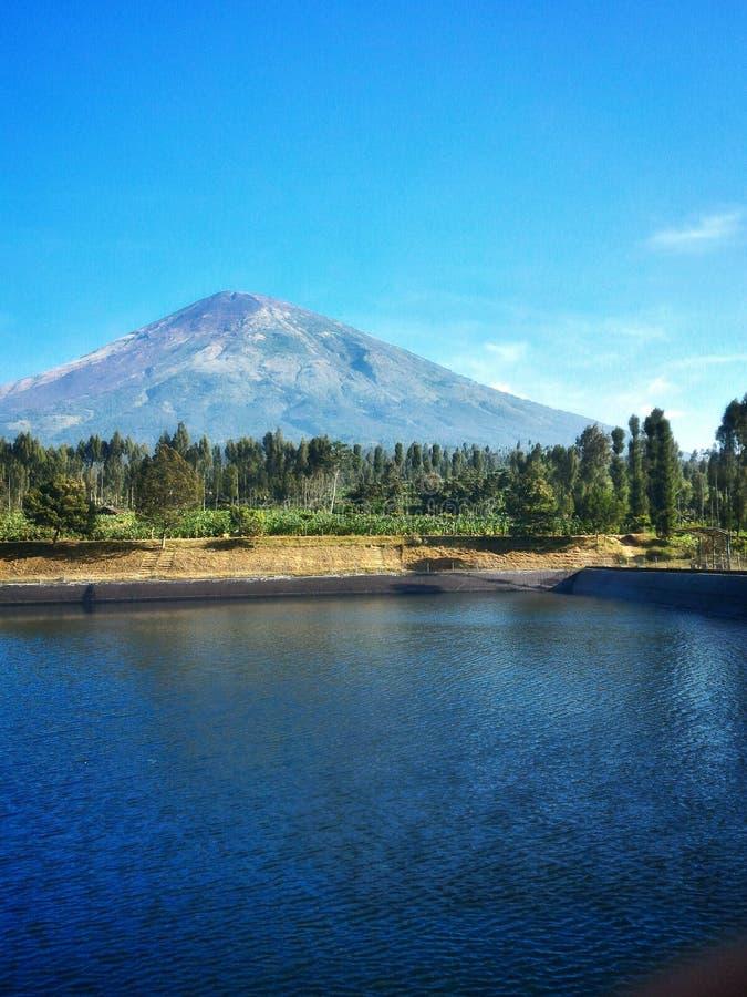 Красивая гора Sindoro стоковое изображение rf