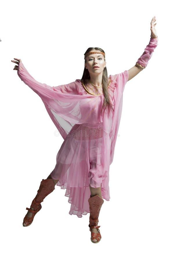 Красивая девушка воина стоковая фотография