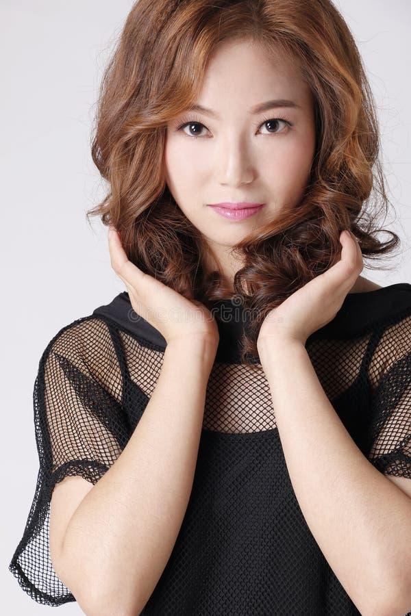 Красивая девушка 1 моды стоковое изображение rf