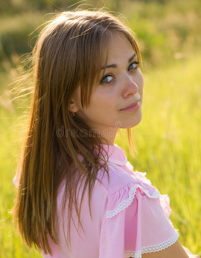 Красивая девушка стоковые фото