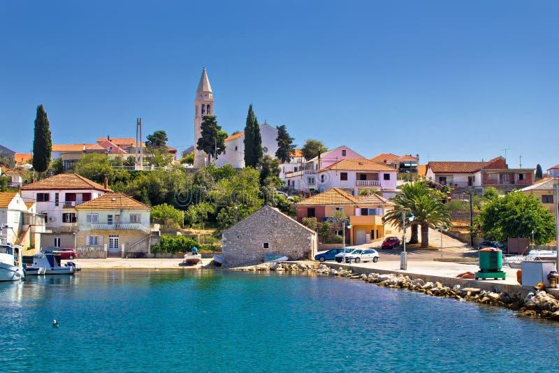 Красивая деревня острова Kali стоковая фотография