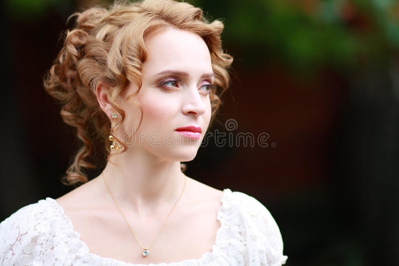 Красивая женщина стоковые изображения rf
