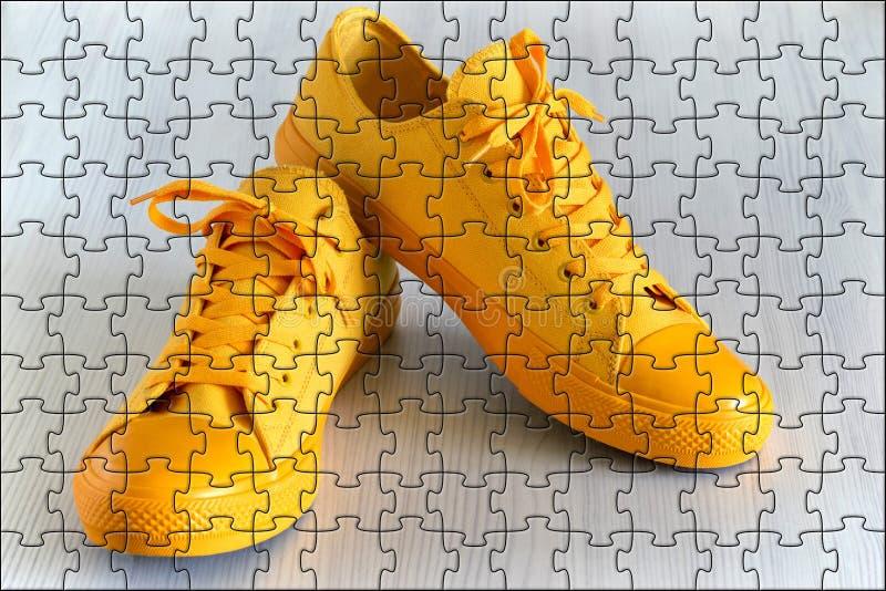 Красивая и модная обувь для спорта и для остатков стоковые изображения rf