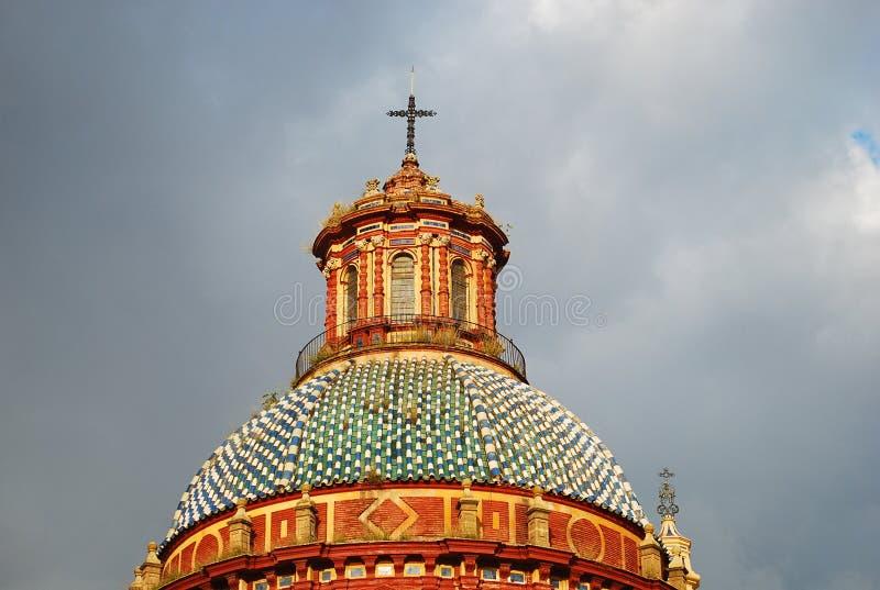Красивая католическая церковь San Luis в Севилье, Испании стоковое фото
