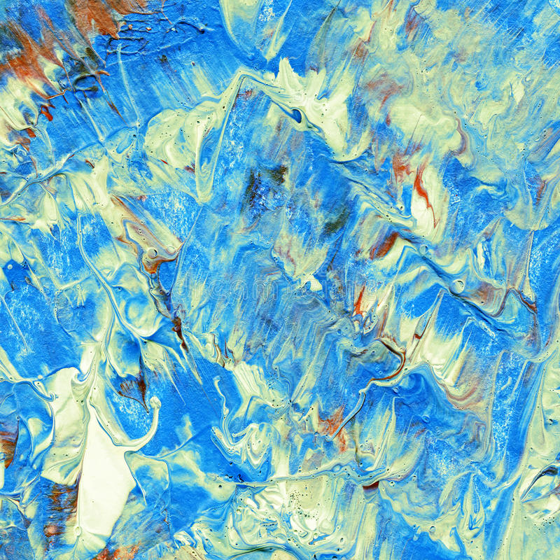 Красивая красочная абстрактная картина стоковое изображение