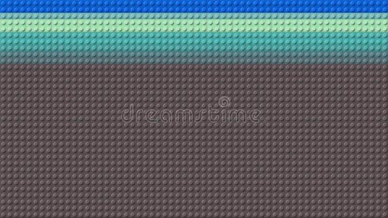 Красивая красочная доска предпосылки Lego стоковое фото
