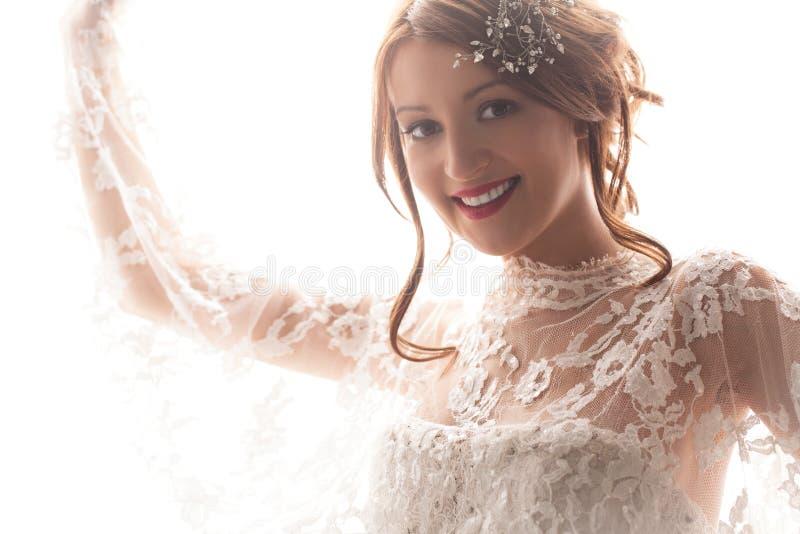 Красивая невеста стоковое фото rf