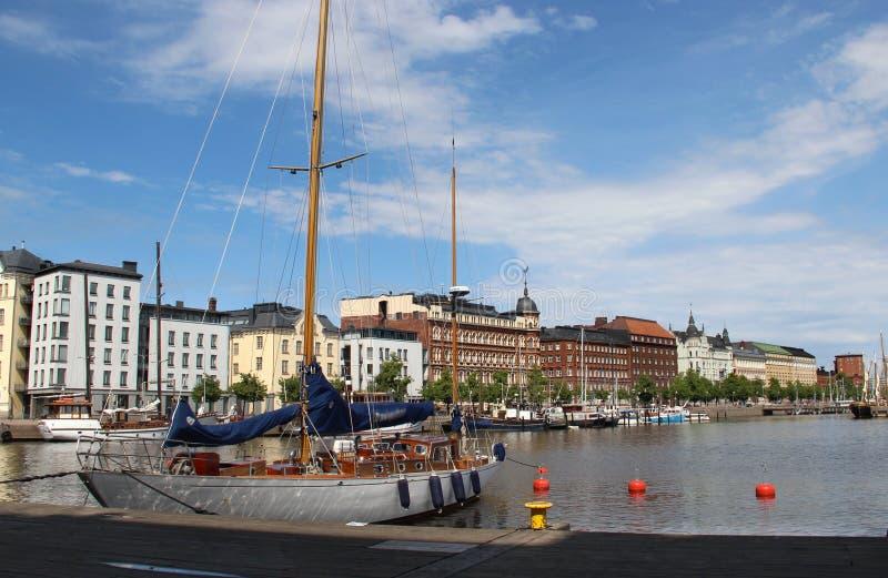 Красивая панорама Хельсинки, Финляндии стоковые фото