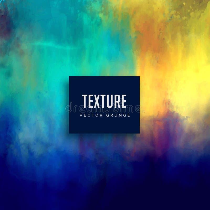 Красивая предпосылка текстуры сделанная с акварелью бесплатная иллюстрация