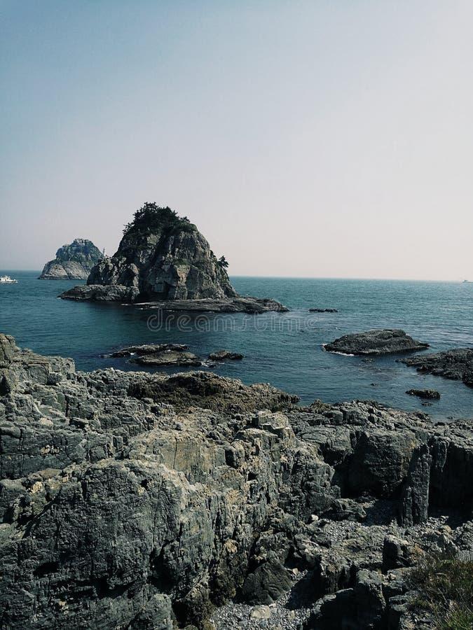 Красивая природа в Пусане, Южной Корее стоковые фотографии rf