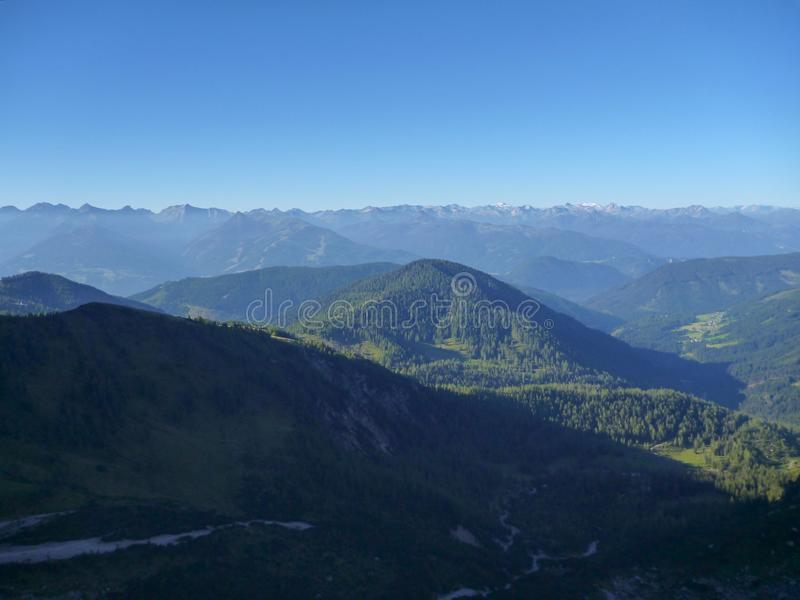 Красивая природа на dachstein hoher в Австрии стоковое фото
