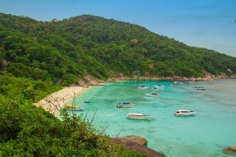Красивая природа Таиланда стоковые изображения rf